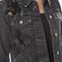 Marc Jacobs Women's Shrunken Denim Jacket - Black: Image 5