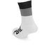 PBK Race High Cuff Socks - White/Black/Grey: Image 2