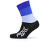 PBK Race High Cuff Socks - Blue: Image 1