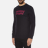 Levi's Men's Graphic Crew Neck Sweatshirt - Graphic Caviar: Image 2