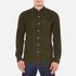 Levi's Men's Sunset 1 Pocket Shirt - Olive Night Melange: Image 1