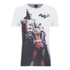 DC Comics Men's Batman and Harley Quinn T-Shirt - White: Image 1