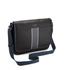 Ted Baker Men's Webster Striped Webbing Messenger Bag - Black: Image 3