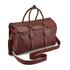 Ted Baker Men's Shalala Leather Holdall Bag - Tan: Image 3
