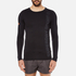 Superdry Men's Gym Sport Runner Long Sleeve Top - Black: Image 1