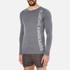 Superdry Men's Gym Sport Runner Long Sleeve Top - Grey Grit: Image 2