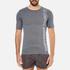 Superdry Men's Gym Sport Runner T-Shirt - Grey Grit: Image 1