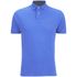 Polo Ralph Lauren Men's Custom Fit Polo Shirt - Cyan Blue: Image 1