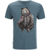 Animal Men's Hipster T-Shirt - Hydro Blue Marl: Image 1