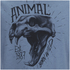 Animal Men's Wild T-Shirt - Cadet Navy Marl: Image 3