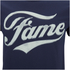 Fame Men's Logo T-Shirt - Navy: Image 5