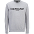 Rum Knuckles Men's London Crew Neck Sweatshirt - Heather Grey: Image 1