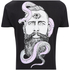 Rum Knuckles Men's Snake Beard T-Shirt - Black: Image 3