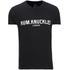 Rum Knuckles Mens London T-Shirt - Zwart: Image 1