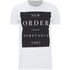 New Order Mens Substance Boxes T-Shirt - Wit: Image 1