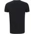 T-Shirt Homme Kiss Logo Vintage Flame - Noir: Image 2