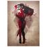 Harley Quinn Inspired Art Print - 16.5 x 11.7: Image 1