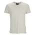 Threadbare Men's Charlie Plain V-Neck T-Shirt - Ecru Marl: Image 1