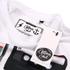 T-Shirt Homme Coton Soul Retro Tapes -Blanc: Image 3