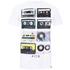 Cotton Soul Men's Retro Tapes T-Shirt - White: Image 1