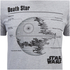 Star Wars Death Star Heren T-Shirt - Heather Grey: Image 5