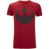 Star Wars Mens Rebel Alliance T-Shirt - Antique Cherry: Image 1
