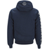 Crosshatch Men's Clarkwell Borg Lined Zip Through Hoody - Dress Blue: Image 2