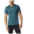 adidas Men's Sequencials Climalite Running T-Shirt - Green: Image 7