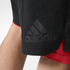 adidas Men's A2G Two-in-One Training Shorts - Black: Image 5