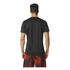 adidas Men's Performance Essentials Running T-Shirt - Black/Red: Image 3