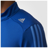 adidas Men's Response 1/4 Zip Long Sleeve Running T-Shirt - Blue: Image 4