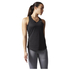 adidas Women's Sequencials Climalite Running Tank Top - Black: Image 1