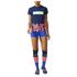 adidas Women's Stella Sport Workout Training Shorts - Blue: Image 7