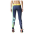 adidas Women's Stella Sport Logo Training Tights - Blue: Image 3