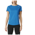 adidas Women's Sequencials Climalite Running T-Shirt - Blue: Image 7