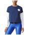 adidas Women's Stella Sport Spacer Training Crew Sweatshirt - Blue: Image 1