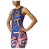 adidas Women's Stella Sport College Training Tank Top - Blue/Orange: Image 2