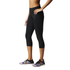 adidas Women's Ultimate Fit Training 3/4 Tights - Black: Image 4