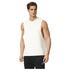 adidas Men's HVY Terry Training Tank Top - White: Image 1