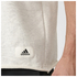 adidas Men's HVY Terry Training Tank Top - White: Image 4