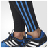 adidas Men's Response Long Running Tights - Black/Blue: Image 4