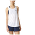 adidas Women's Lightweight Training Tank Top - White: Image 7