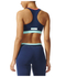adidas Women's Stella Sport Padded Training Sports Bra - Blue/Pink: Image 3