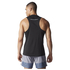 adidas Men's Sequencials Running Singlet - Black: Image 3