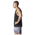 adidas Men's Sequencials Running Singlet - Black: Image 2