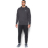 Under Armour Men's Triblend Full Zip Hoody - Asphalt Heather: Image 3
