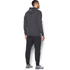 Under Armour Men's Triblend Full Zip Hoody - Asphalt Heather: Image 5