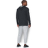 Under Armour Men's Triblend Pullover Hoody - Asphalt Heather: Image 5