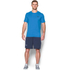 Under Armour Men's Sportstyle Left Chest Logo T-Shirt - Brilliant Blue/Nova Teal: Image 3