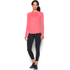 Under Armour Women's ColdGear Armour Crew Long Sleeve Shirt - Brilliance Pink: Image 3